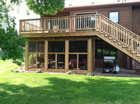 How To Build Screened Porch Under Deck