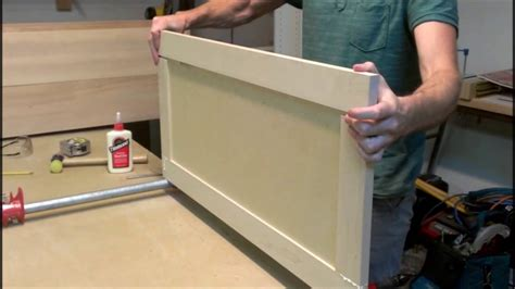 How To Build Shaker Cabinet Doors Youtube