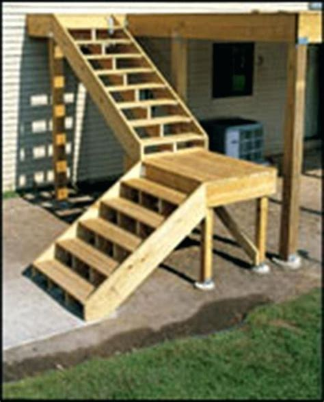 How To Build Stairs From A Deck