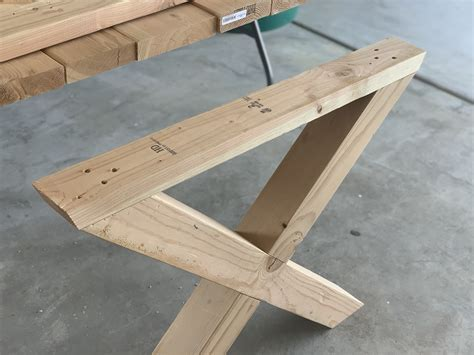 How To Build Table Legs Frame