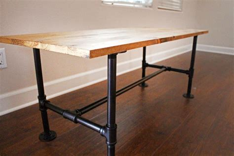 How To Build Table Legs From Pipe
