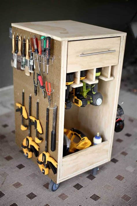 How To Build Tool Storage Cart
