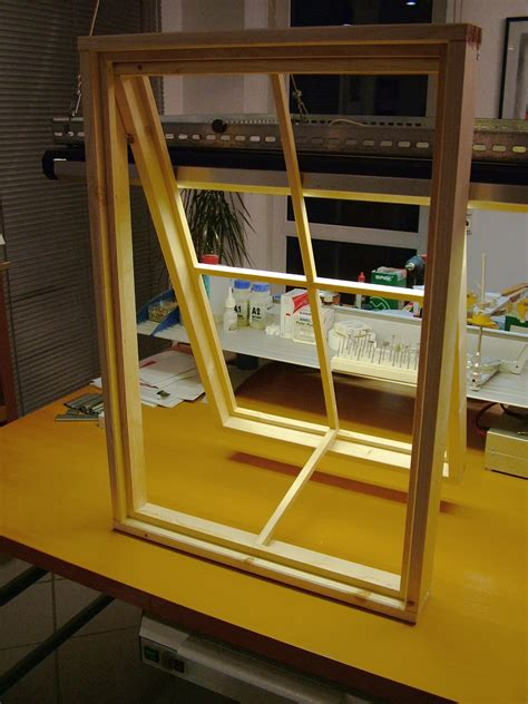 How To Build Window Frame With Panes