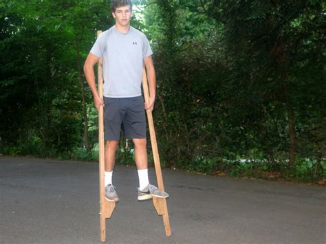 How To Build Wooden Stilts