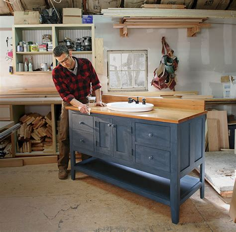 How To Build Your Own Bathroom Vanity Cabinet