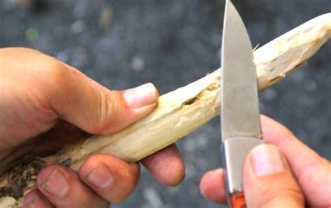 How To Carve A Bow Out Of Wood