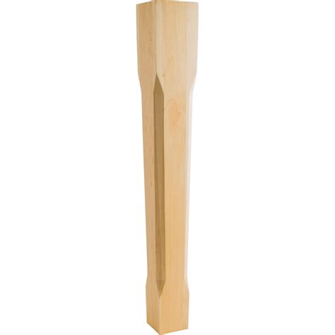 How To Chamfer Wood Post