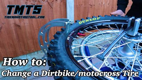 How To Change A Dirt Bike Tire Video