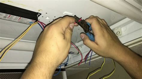 How To Change Fluorescent Light Fixture Ballast