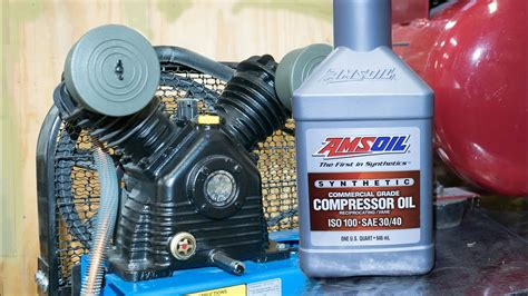 How To Change Oil Air Compressor