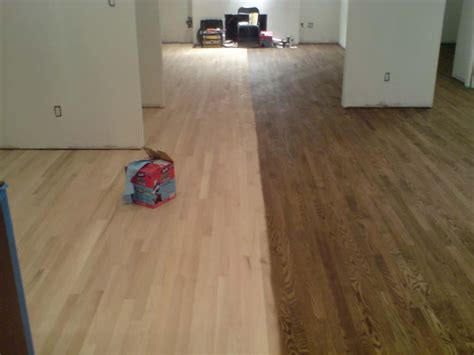 How To Change Stain Color On Hardwood Floors