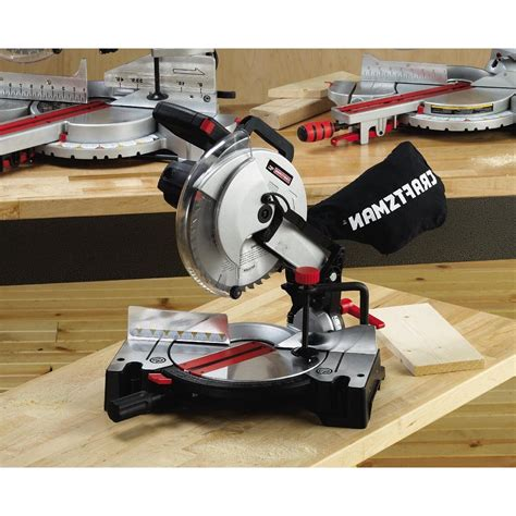 How To Change The Blade On A Craftsman Miter Saw Model 212120