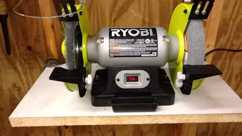How To Change Wheel On Ryobi Bench Grinder