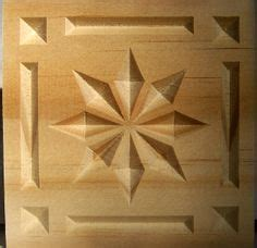 How To Chip Carve A Ten Point Star In Wood
