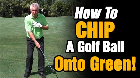 How To Chip Golf Ball