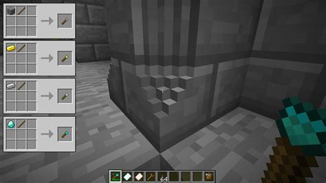 How To Chisel Stone In Minecraft