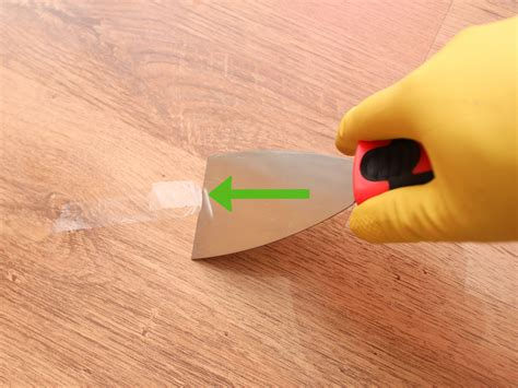 How To Clean Adhesive Off Wood Floor