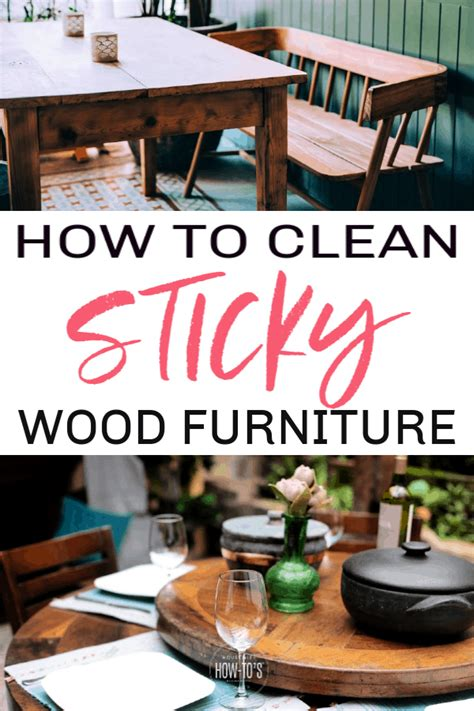 How To Clean Adhesive Off Wood Furniture