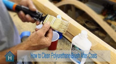 How To Clean Brush After Oil Based Polyurethane