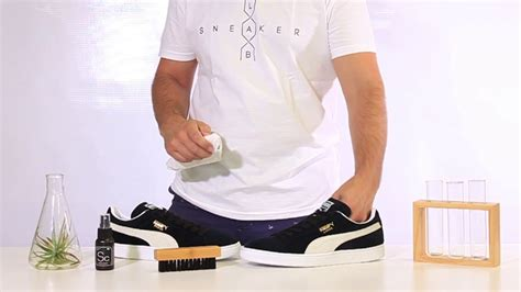 How To Clean Puma Suede Sneakers