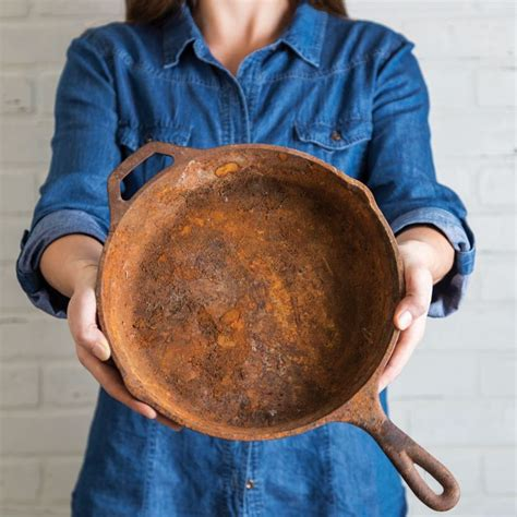 How To Clean Rust Off Cast Iron Pot