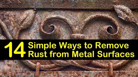 How To Clean Rust Off Metal Statue