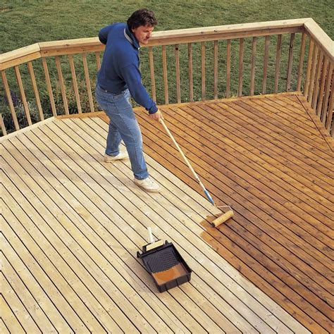 How To Clean Stained Wood Deck