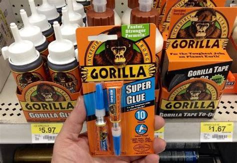 How To Clean Up Spilled Gorilla Glue