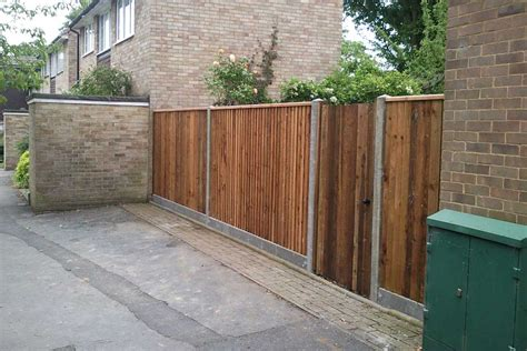 How To Concrete Fence Posts And Gravel Boards