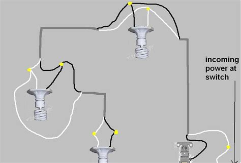 How To Connect Multiple Led Light Fixtures To One Switch
