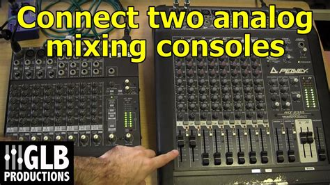 How To Connect Two Mixer Boards Together
