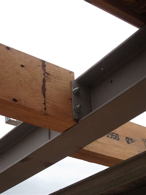 How To Connect Wood To Metal Beams