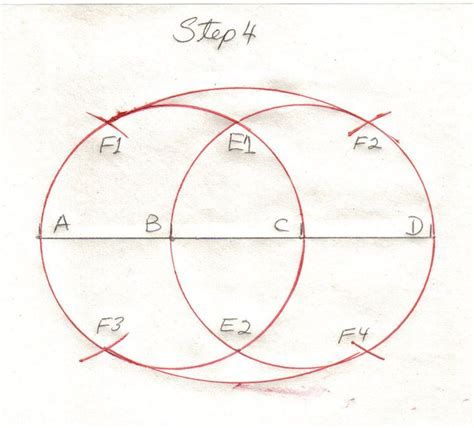 How To Construct An Oval With A Compass
