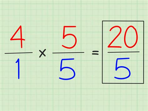How To Convert Fractions Into Whole Numbers