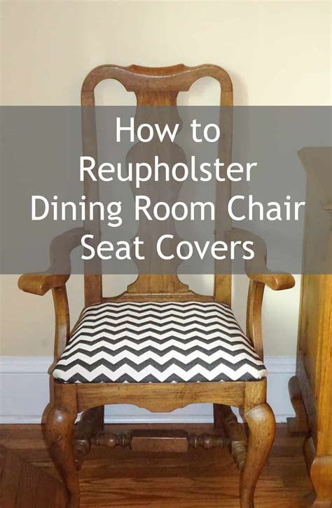 How To Cover A Chair Seat With Material