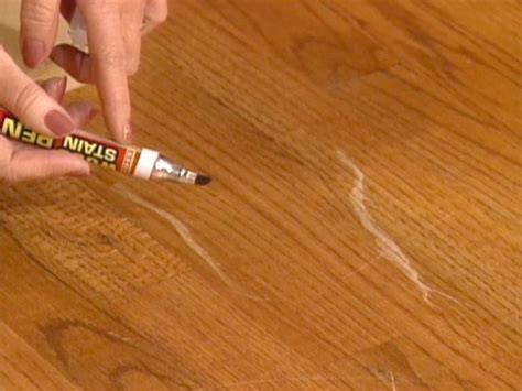 How To Cover Light Scratches On Wood Floor