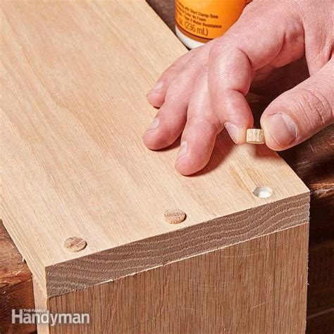 How To Cover Screw Heads On Wood Furniture