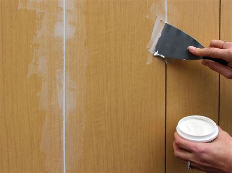 How To Cover Wood Paneling Temporarily Out Of Service
