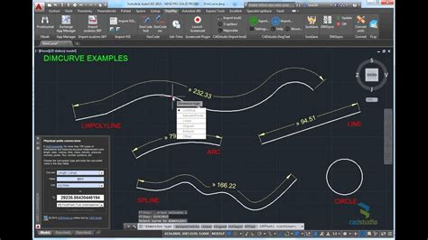 How To Create Curves In Autocad