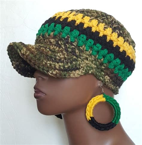 How To Crotchet A Camoflauge Baseball Hat