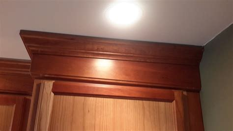 How To Crown Molding Cabinets To Ceiling