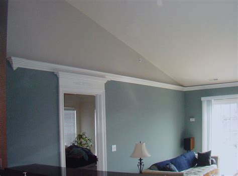 How To Crown Molding Vaulted Ceiling