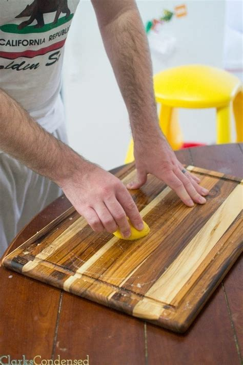 How To Cure Wooden Cutting Board