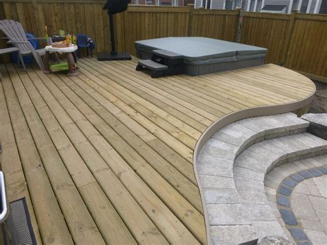 How To Curve Wood For A Deck