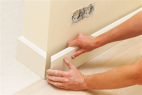 How To Cut 45 Degree Baseboard