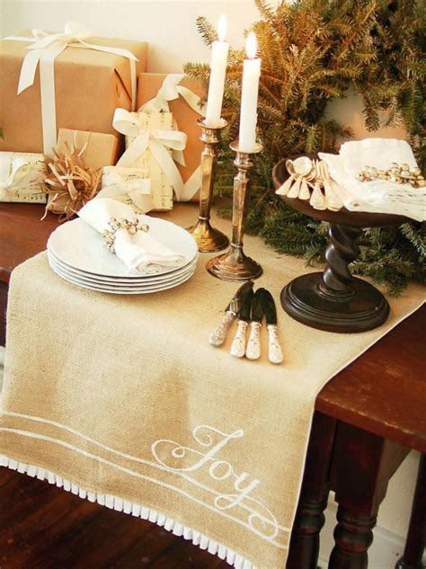 How To Cut A Burlap Runner