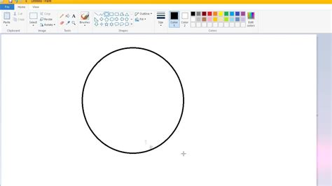 How To Cut A Circle In Paint
