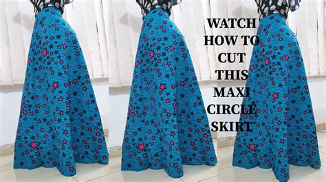 How To Cut A Circle Skirt