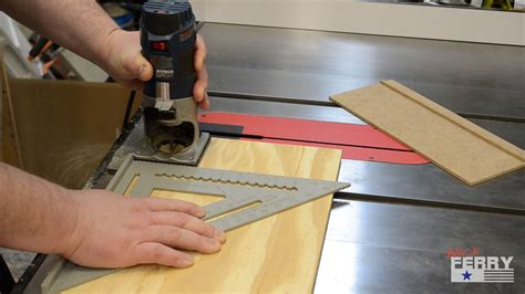 How To Cut A Dado With A Router