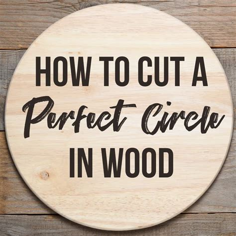 How To Cut A Half Circle In Wood